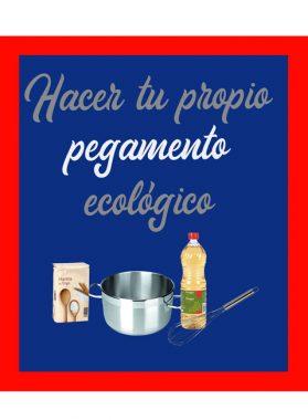 Como hacer tu propio pegamento ecológico